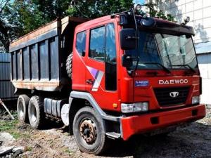 Аренда самосвала Daewoo 25 тонн в Домодедово