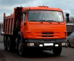 Аренда самосвала КАМАЗ 65115 в Домодедово